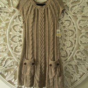 Style & Co. Sweater Dress NWT